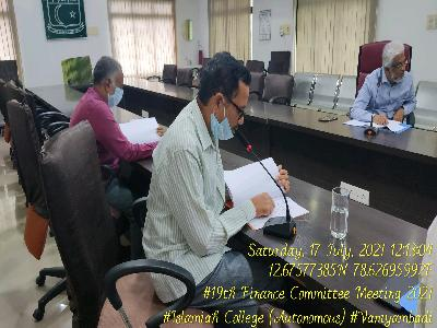 19th Finance Committee meeting
